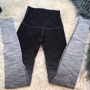 Lululemon ombre high waist leggings